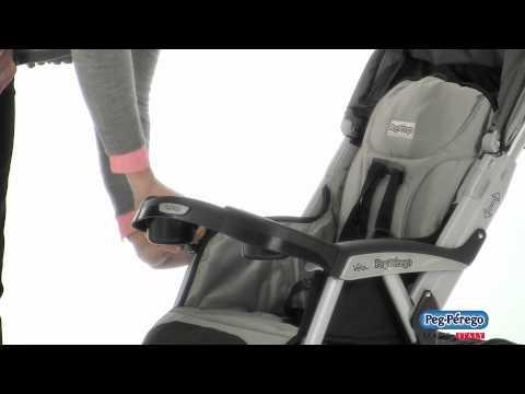 2011 Stroller - Peg Perego Vela Easy Drive - Official Video