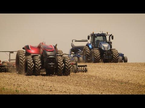 The CNH Industrial Autonomous Tractor Concept (FRANÇAIS)