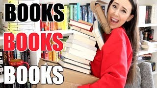 Unboxing Book Haul April 2019 || Books with Emily Fox