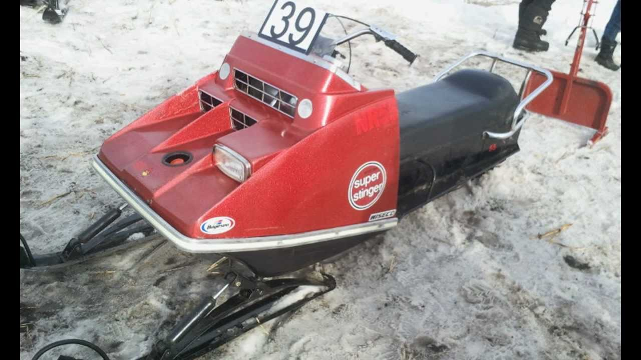 Polaris Snowmobiles For Sale >> 1971 scorpion super stinger carstairs sled drags - YouTube