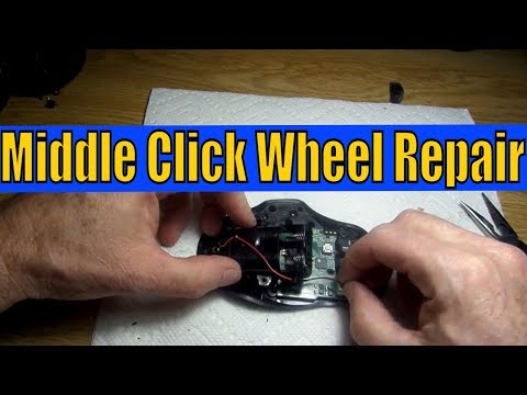 How To Repair The Middle Click Wheel On Your Wireless Gaming Mouse
