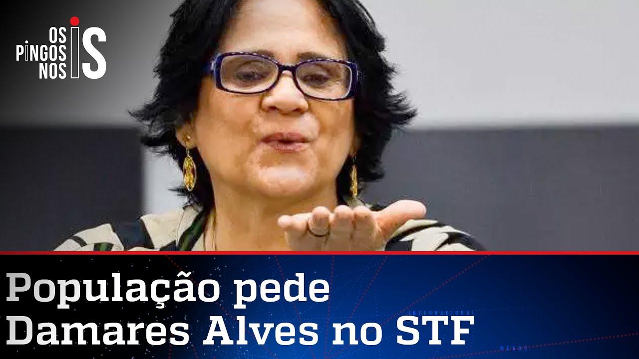 Damares nega campanha para o STF