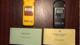 Порівняння дозиметрів радіометрів Терра МКС 05 (чорний, професійний) і Терра-П (побутовий).