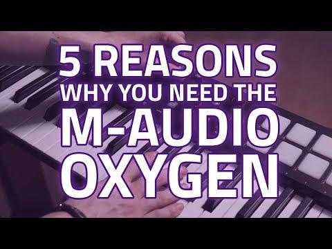 M-Audio Oxygen USB MIDI Mk4 Keyboard Range - 5 Reasons To Own It