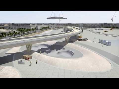 بالفيديو: محاكاة لتصميم وتنفيذ محطة المترو الرئيسية غرب الرياض
