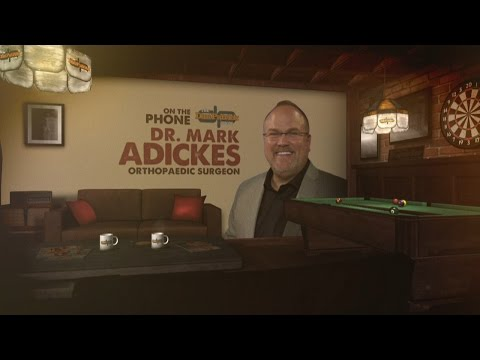 Dr. Mark Adickes on The Dan Patrick Show (Full Interview)