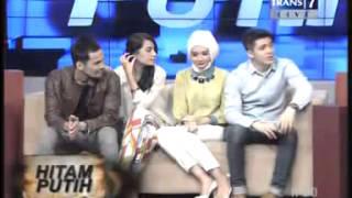 Download Video [Hitam Putih] Teuku Wisnu, Shireen, Zaskia & Irwansyah MP3 3GP MP4