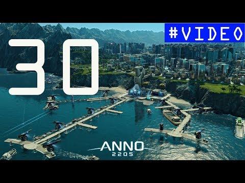 Anno 2205. #30  [DLC Frontiers]. Полное прохождение. 100.000 инвесторов и синтеты |