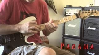 Van Halen - Panama Guitar Cover