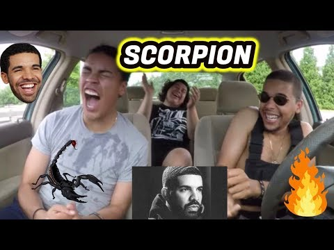 DRAKE - SCORPION   REACTION REVIEW