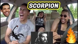 Baixar DRAKE - SCORPION (FULL ALBUM) REACTION REVIEW