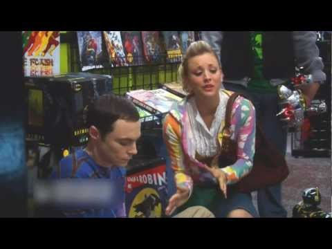 Big Bang Theory--Penny Comforts Sheldon After a Fight With Leonard