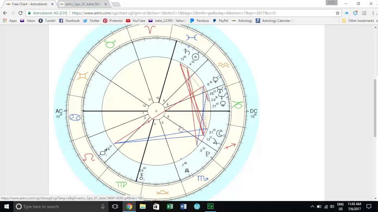 How To Draw Up A Birth Chart Youtube