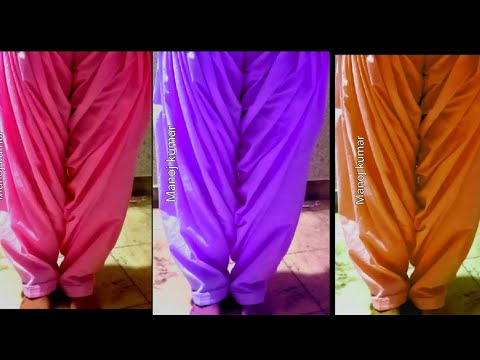 Khajuri Salwar cutting and stitching (very easy method)