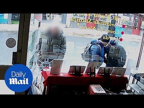 EXCLUSIVE: Alexander Petrov and Ruslan Boshirov seen on CCTV
