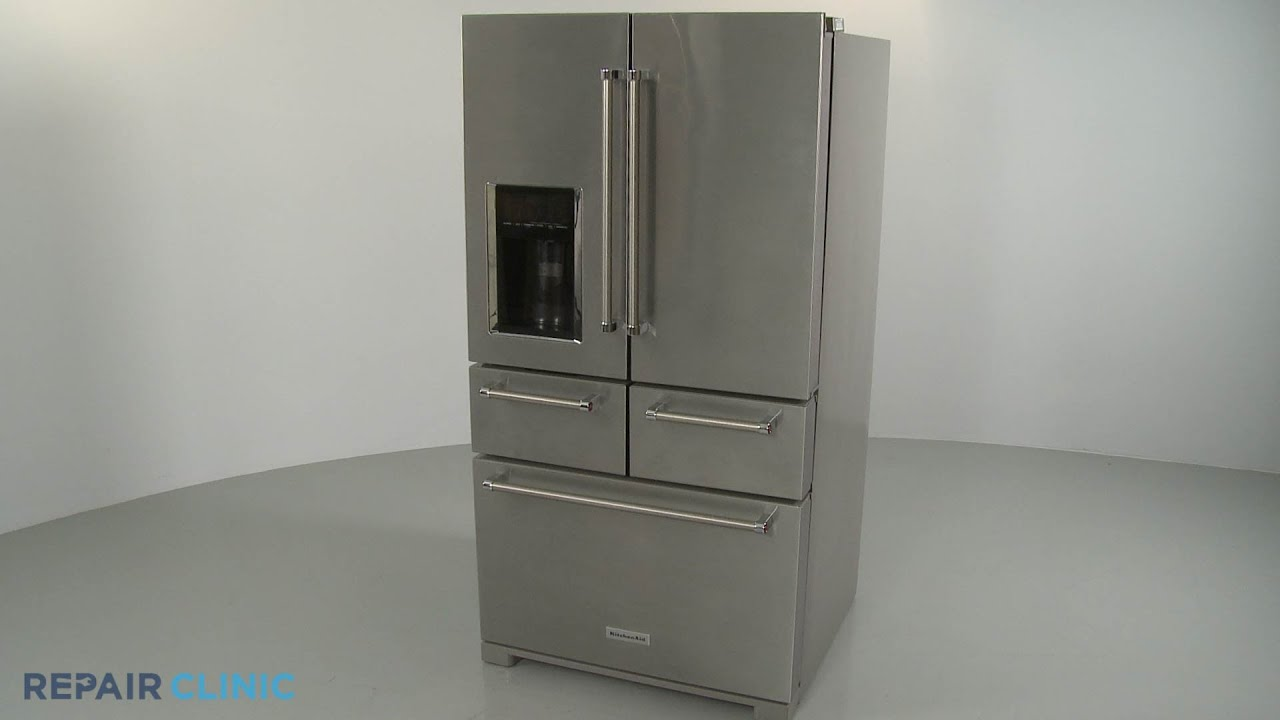 Kitchenaid 5 Door Refrigerator Disassembly Model