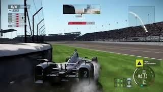 Project Cars 2 Crash Indycar