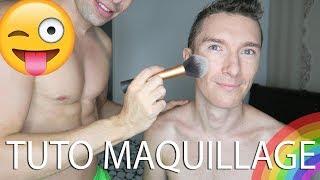 Tuto Makeup Homme - Etre beau gosse en video sur youtube