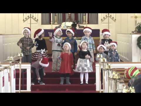 Wesley Preschool Christmas 2016