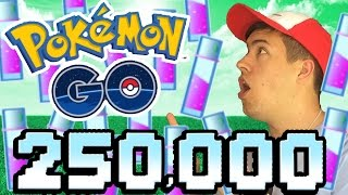 Pokemon GO | WORLD RECORD 250,000 STARDUSt! MAX LEVEL POKEMON!