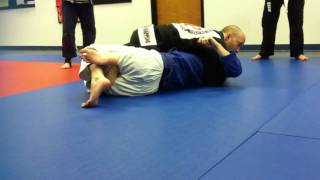 Half Guard Pass Hip Switch to Knee Slice Part 3 (Freeing the Ankle)