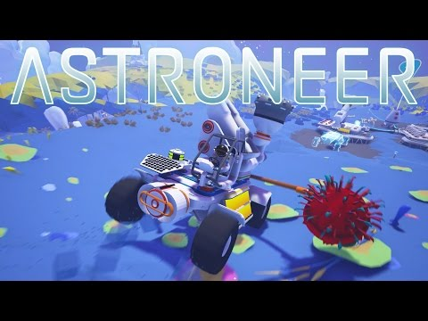 Astroneer - Super DRILL and TOW Truck! - Ep 7 - Let's Play Astroneer Gameplay