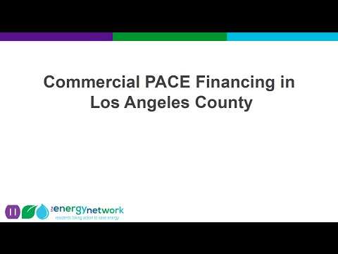 Los Angeles County Commercial PACE Workshop