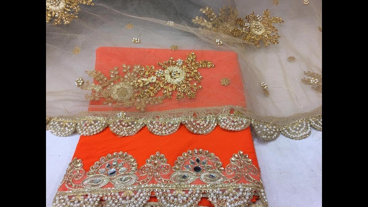 588f1fef65 Stone Work Designer Sarees Collections || Latest Heavy Stone Work Party  Wear Saree designer