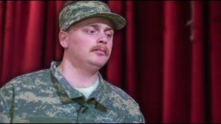 talk show soldier surprise