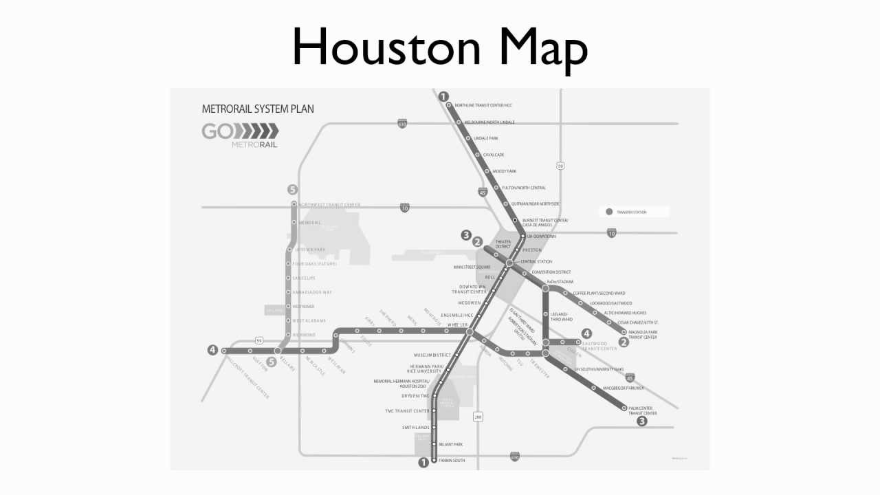 Houston METRO Rail Map Presentation - YouTube