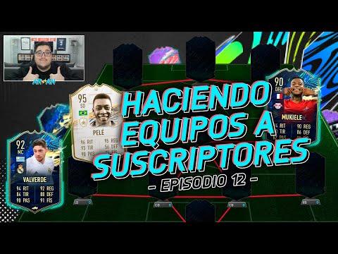 HACIENDO EQUIPOS A SUSCRIPTORES! #12 FIFA 21 ULTIMATE TEAM