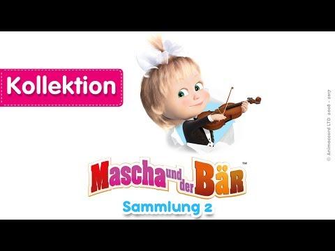 Mascha und der Bär - Sammlung 2 (20 Minuten) Eine Kollektion von Zeichentrickfilme für Kinder 2017