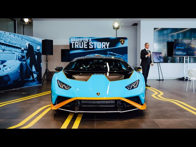 Lamborghini Melbourne Huracan STO Launch | 4K