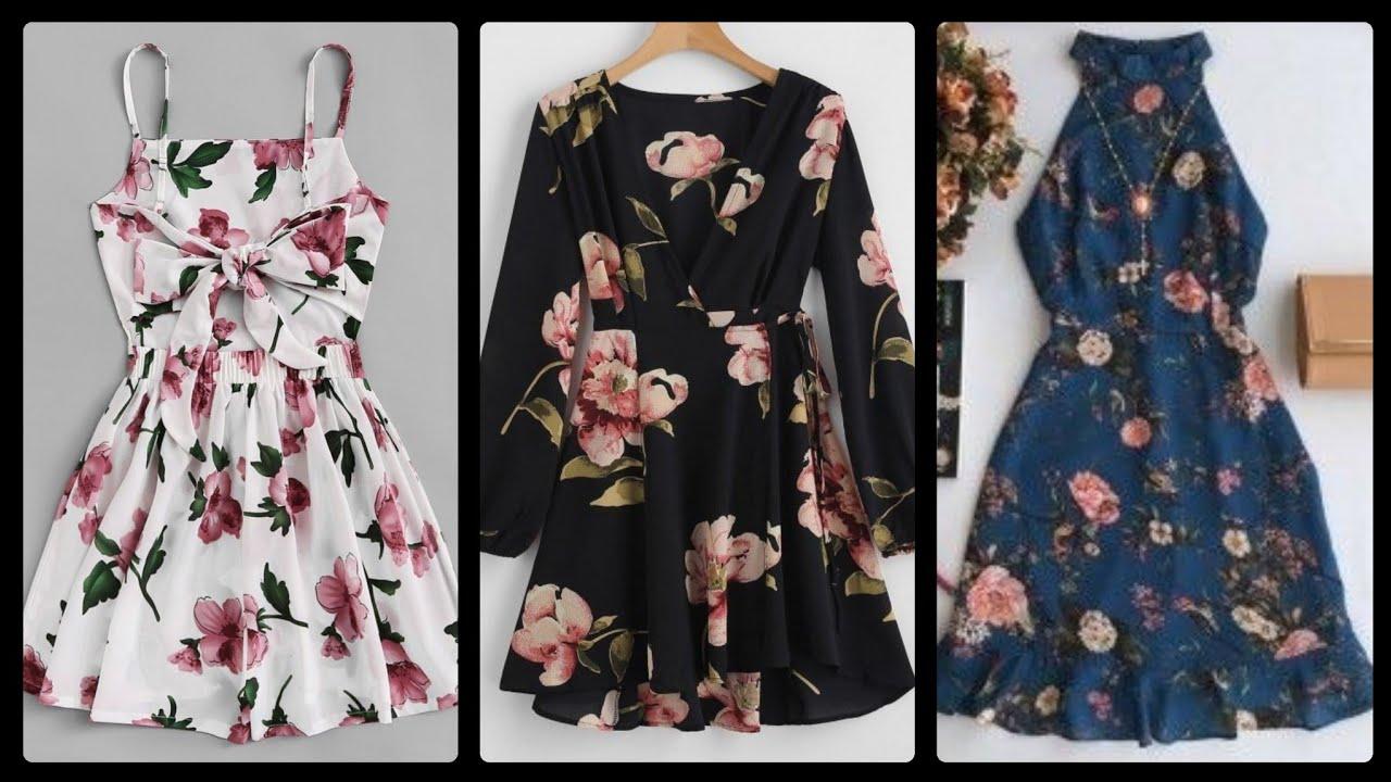 [VIDEO] – Trendy Floral mini dresses lookbook 2020