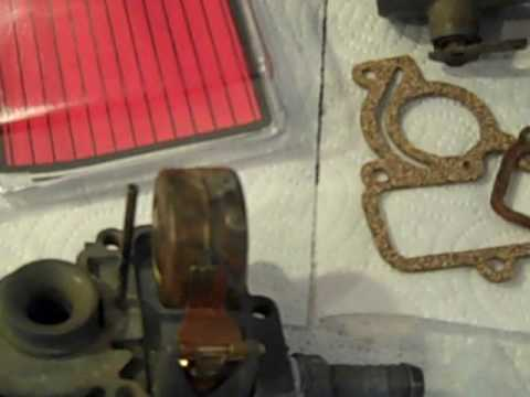 Farmall Cub IH 1964 Carburetor Kit Install Float Adjustment - Part 2