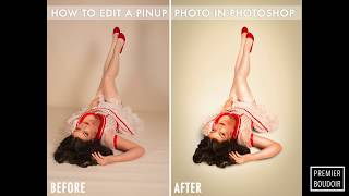 How to edit a pin up photo in photoshop