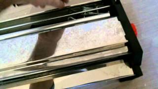 обзор машинки для нанесения клея на обои (Германия)