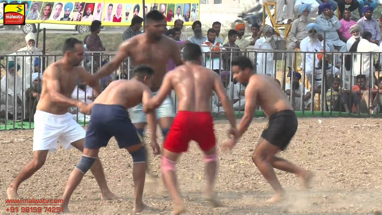 DHIANPUR (Ropar) !! KABADDI CUP - 2015 !! OPEN !! Full HD !! Part 1st.
