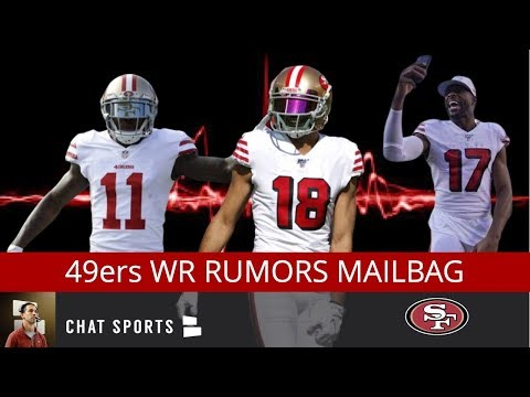 49ers-wide-receivers-rumors-mailbag-on-injuries,-drops,-free-agents-+-sf-49ers-rb-injuries