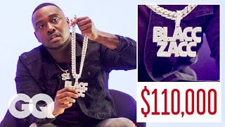 Blacc Zacc Shows Off His Insane Jewelry Collection   On the Rocks   GQ