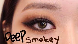 [makeup]딥브라운 스모키메이크업 (고화질ver)(…