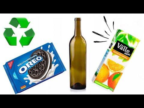 3 ideias de Artesanato com Reciclagem