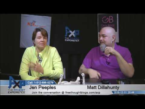 Atheist Experience 20.49 with Matt Dillahunty and Jen Peeples