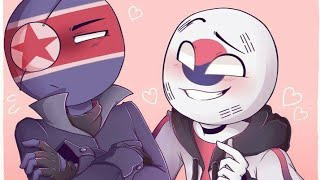 🇰🇵TOP 15 MEME COUNTRYHUMANS NORTH AND SOUTH KOREA🇰🇷