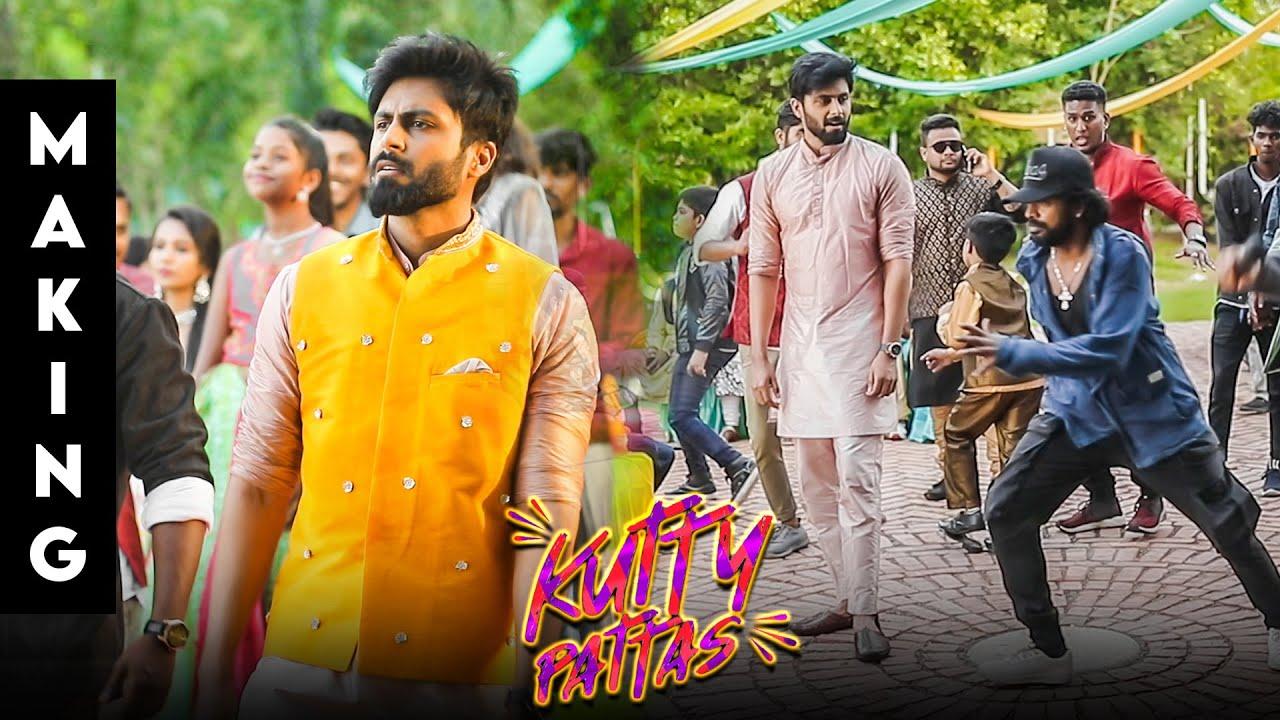 Download Kutty Pattas Making Video | Ashwin, Reba John, Venki | Santhosh Dhayanidhi | Sandy