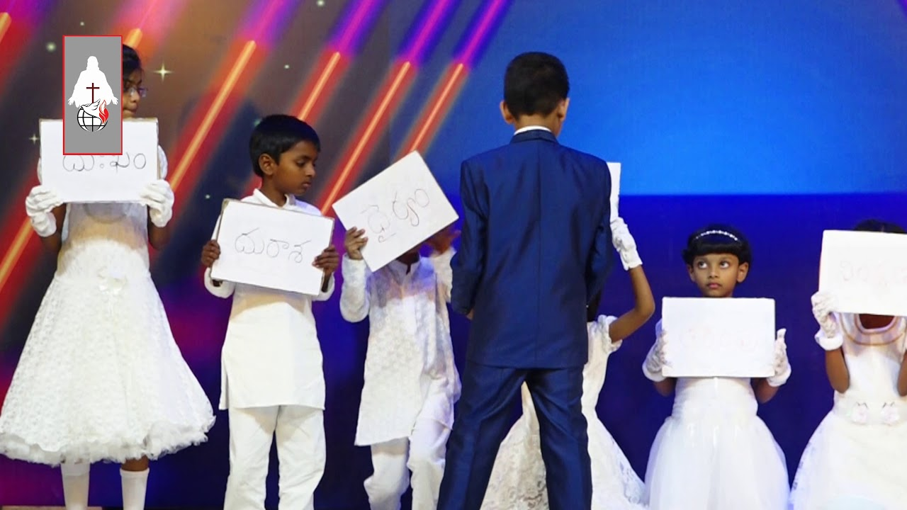 Good and Bad – Telugu Christian Sunday School Skit