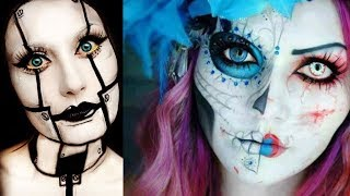 Halloween Makeup - Pretty And Scary Halloween Makeup Ideas - MUST SEE 2018 #1