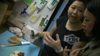 tvbs new york 031410 taiwanese pork bun in nyc 紐約割包