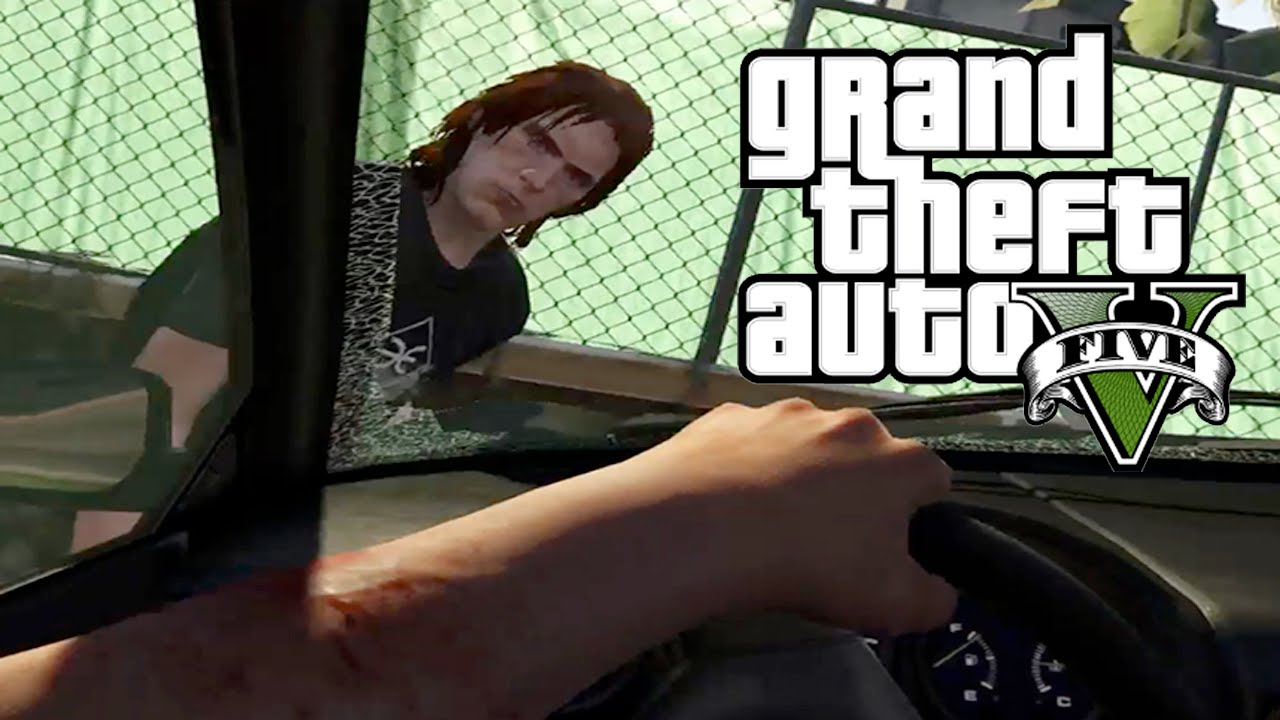 Best first person car crash compilation in grand theft auto 5 season 2 episode 1