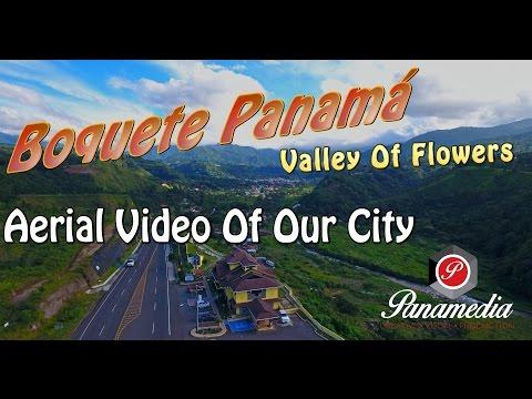Boquete Panama Flyover in 4K | Panamedia PA Aerial Video